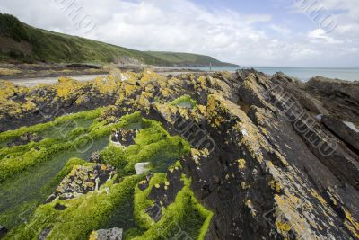 Rugged Coastline in Ireland
