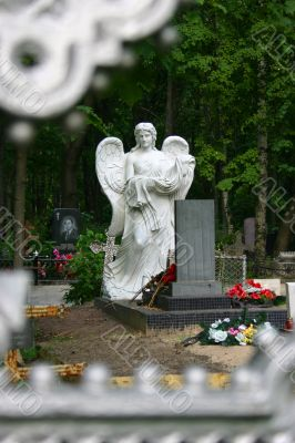 Angel Cemetery monument