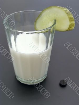 Extraordinary milk coctail