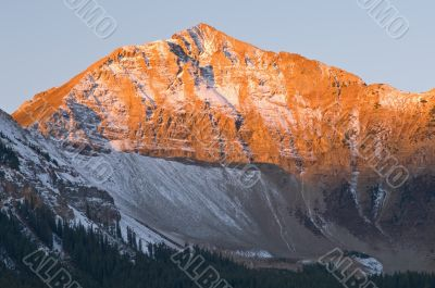 Alpen Glow on Sunshine Mountain