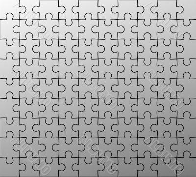 jigsaw puzzle pattern