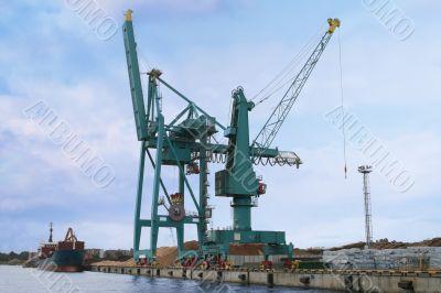 Container cranes 05