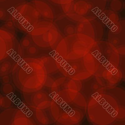 Abstract Red Circles Background