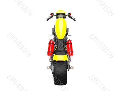 isolated moto back view 02