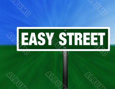 Easy Street Street Sign