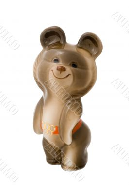 Misha, the Moscow Olympic Games mascot