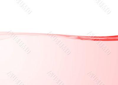 Elegant pink curve