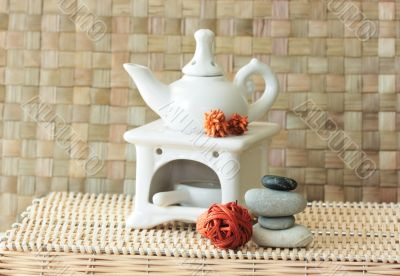Fragrance lamp for meditation