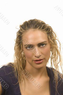 Messy Wet Hair