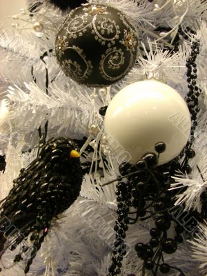 Christmas and New Year`s ornaments
