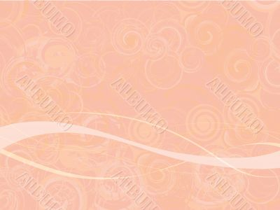 Pink Swirly Abstract Background
