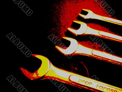 Open End Wrenches
