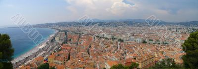 Panorama of Nice, French Riviera
