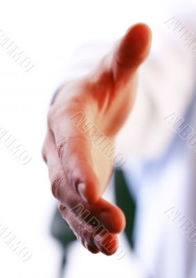 Friend handshake