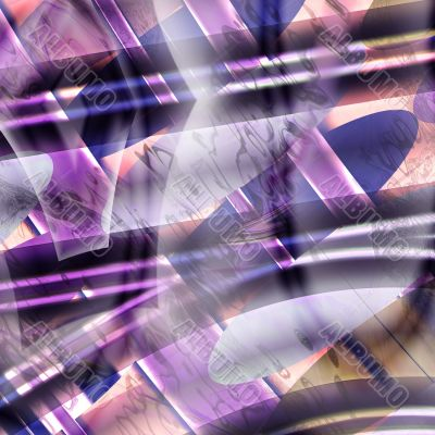 Abstract violet background structure