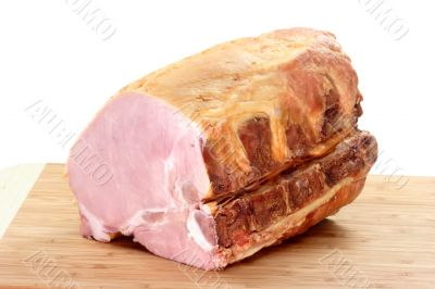 Pork ham meat