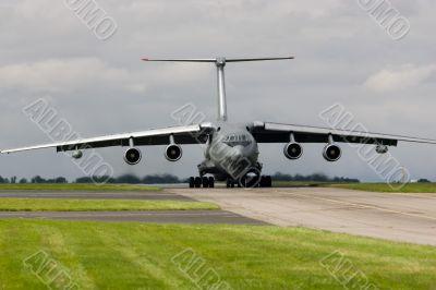 Russian-built cargo aircraft