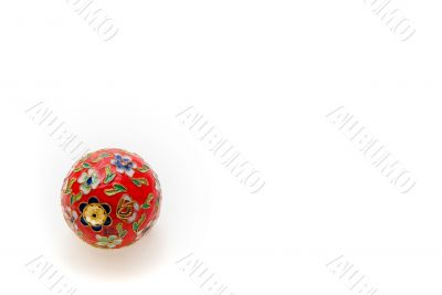 Christmas Time: Floral Bauble
