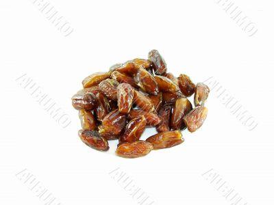 Sweet-tasting dried dates