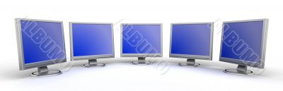 Monitors flat screen