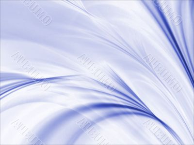 Fractal Abstract Background - Rippling blues