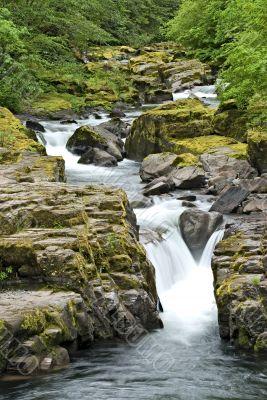 Bryce Creek Falls, Oregon