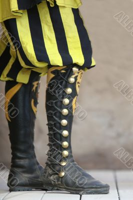 High Lace Boots
