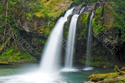 Iron Creek Falls, Washington