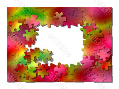 Framework from puzzle.