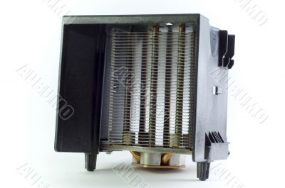 Metal Heatsink with Plastic Cover