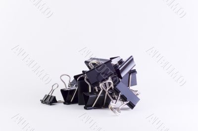 Stack of Metal Clips