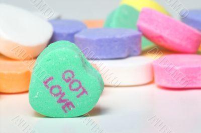 Conversation Hearts - Got Love