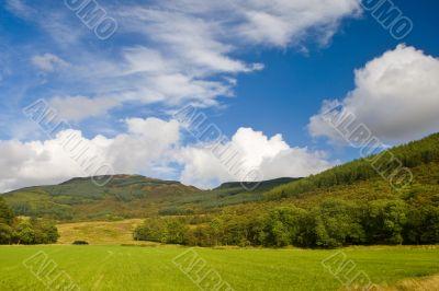 Landscape from Scotland