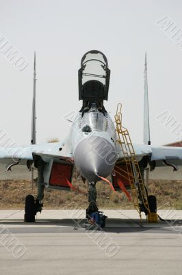 Soviet jet fighter