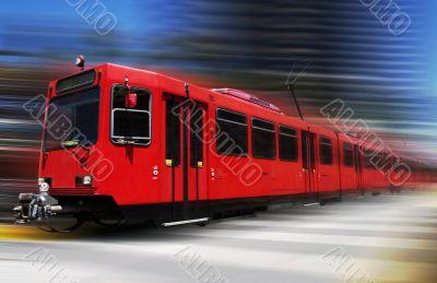 Blazing trolley