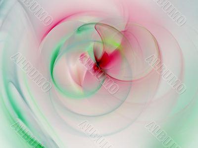 Fractal Abstract Background - Blending pastels