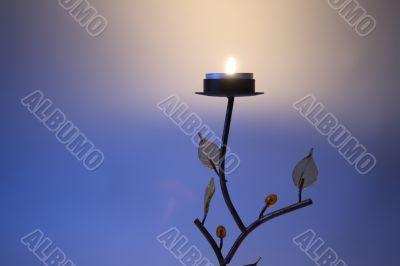 Tree candlestick