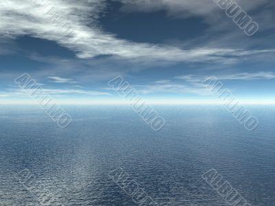 3d seascape