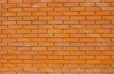 wall of accurate bricks