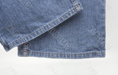 modern designer blue jeans