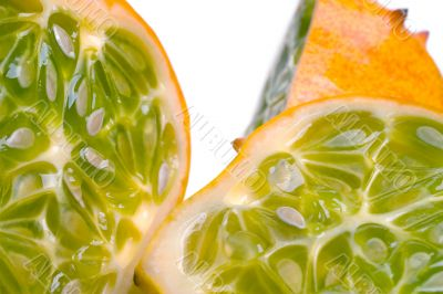 Juicy Sliced Horned Melon