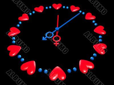 valentines watch
