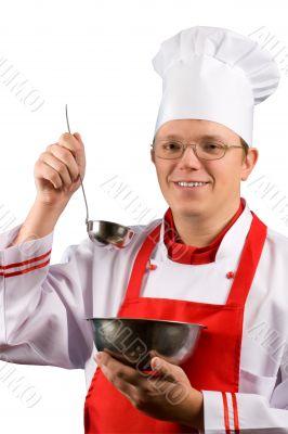 Happy Proud Chef