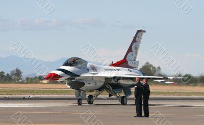 F16 flighter jet