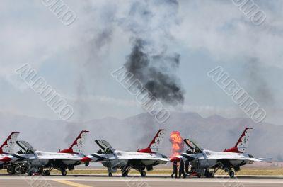 pilots prepare