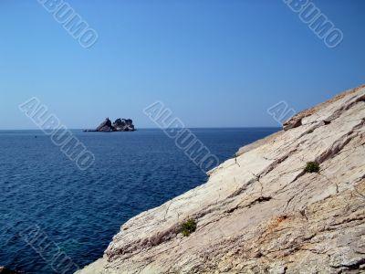 Sea,Stone and Sky