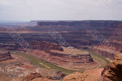 Colorado river at Dead Horse point.