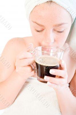 Wellness girl series coffee cup