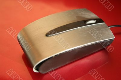 Optical metal notebook wheel mouse