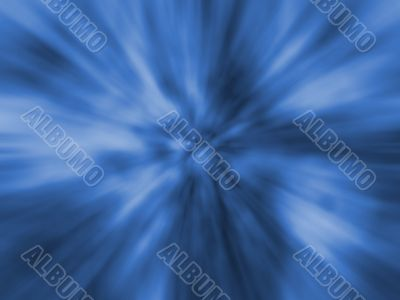 Digital Abstract Background - Blue Zoom